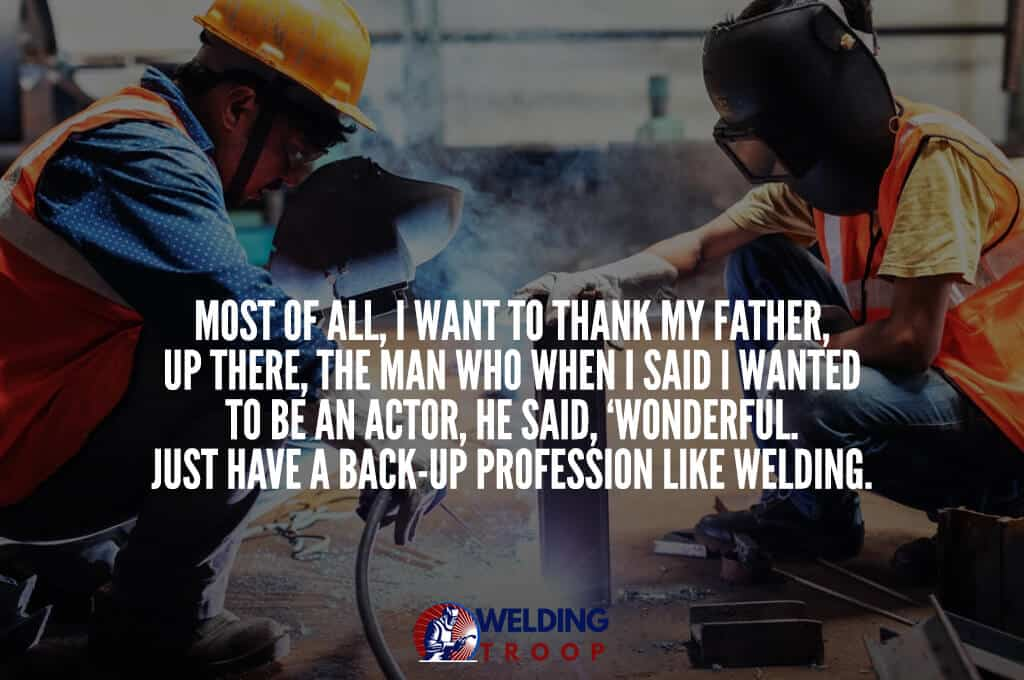 two metal workers