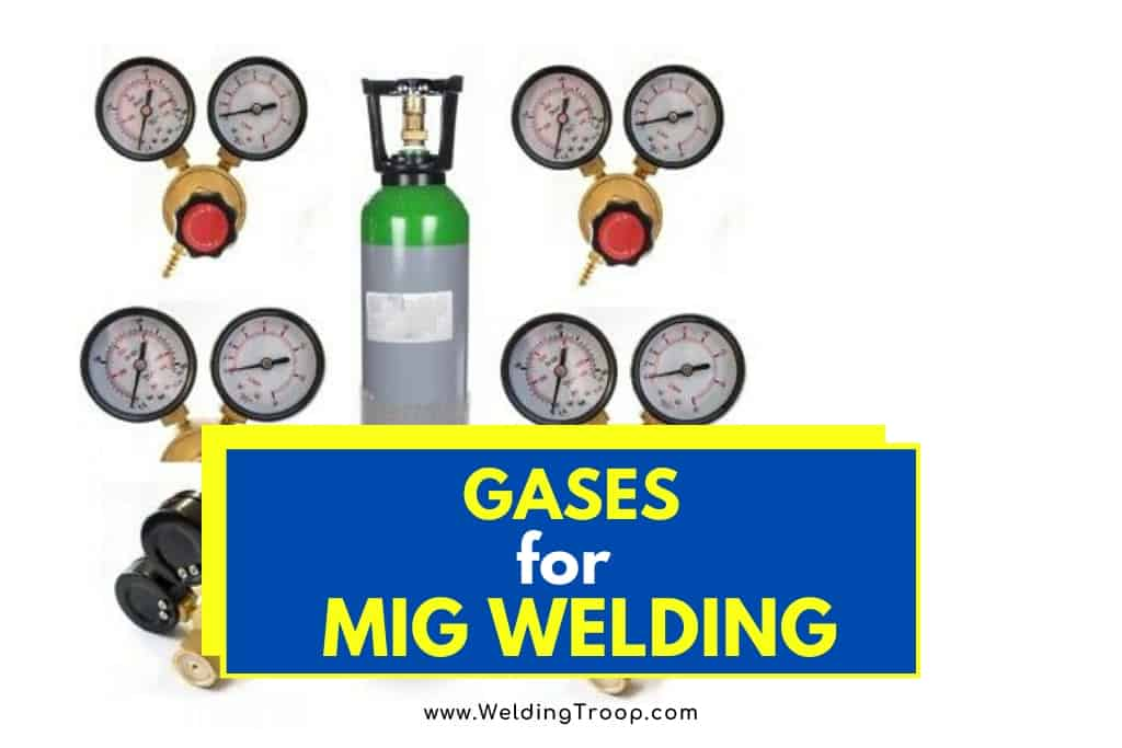 What Gases Do MIG Welders Use