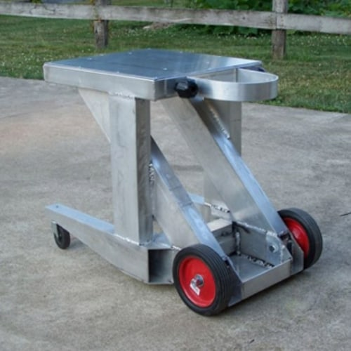 aluminum table welding
