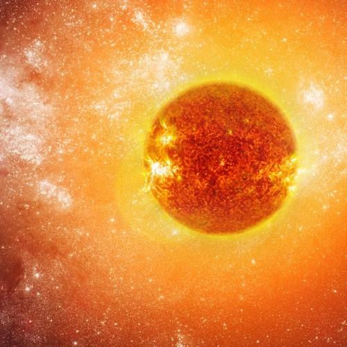 sun temperatur
