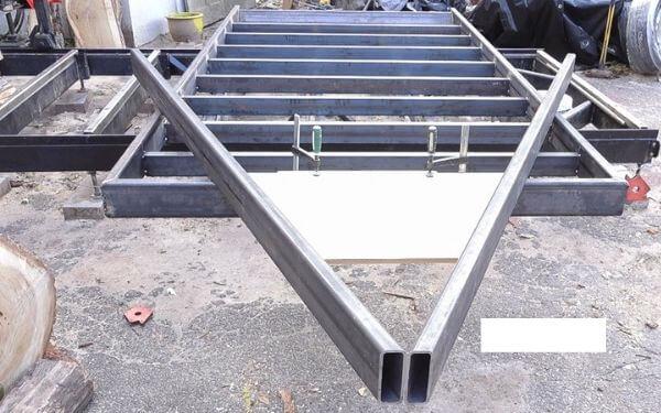 DIY Trailer frame